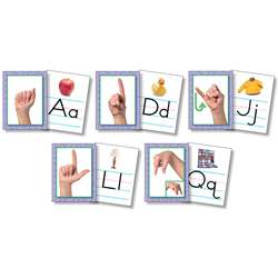 Resource Bundles American Sign Language Alphabet Cards By North Star Teacher Resource
