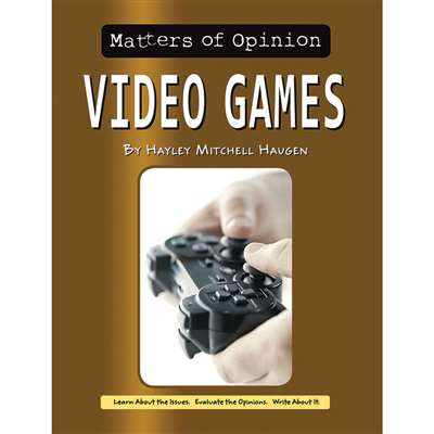 Matters Of Opinion Video Games, NW-9781603575812