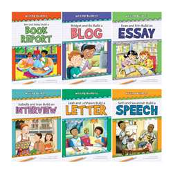 Set 1 Writing Builders 6 Book Set, NW-WBPB1