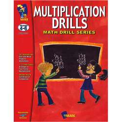 Multiplication Drills By On The Mark Press