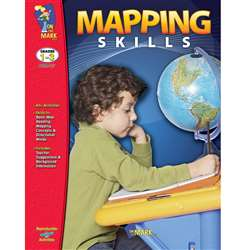 Mapping Skills Grades 1-3 By On The Mark Press