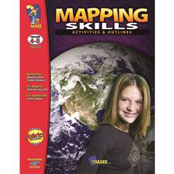 Mapping Skills Activities & Outlines By On The Mark Press
