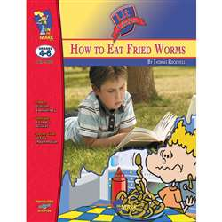 How To Eat Fried Worms Lit Link Gr 4-6 By On The Mark Press