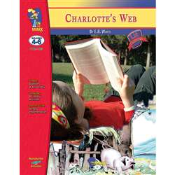 Charlottes Web Lit Link Gr 4-6 By On The Mark Press
