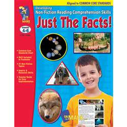 Shop Just The Facts Gr 4-6 Developing Non Fiction Reading Comp Skills - Otm14289 By On The Mark Press