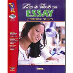 How To Write An Essay By On The Mark Press