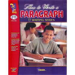 How To Write A Paragraph By On The Mark Press