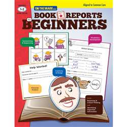 Book Reports For Beginners Gr 1-2, OTM18128