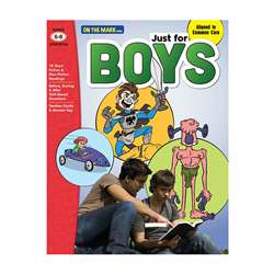 Just For Boys Gr 6-8 Reading Comprehension, OTM18134