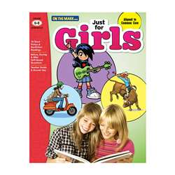 Just For Girls Gr 6-8 Reading Comprehension, OTM18137