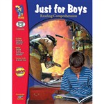 Just For Boys Reading Comprehension Gr 3-6 By On The Mark Press