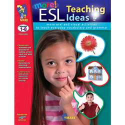 More Esl Teaching Ideas (Gr 1-8) By On The Mark Press