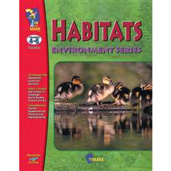 Habitats Gr 4-6 By On The Mark Press