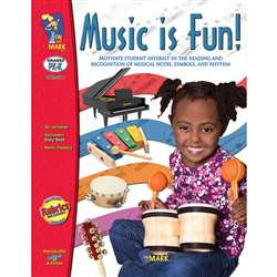 Music Is Fun Gr Pk-1 By On The Mark Press