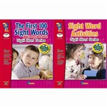 First 100 Sight Words & Activities 2 Book Set By On The Mark Press