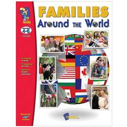 Shop Families Around The World Gr 4-6 - Otm823 By On The Mark Press