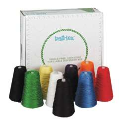 Yarn Dispenser Bright Colrs 9 Cones, PAC0000140