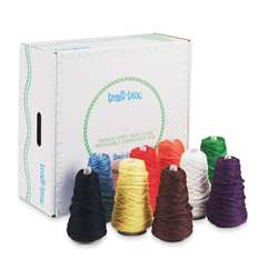 Jumbo Roving Yarn Dispensers Bright Colors 9 Cones, PAC0000340