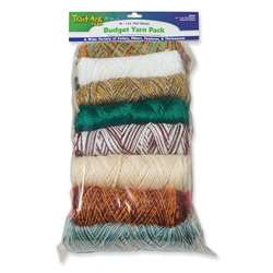 Budget Yarn Pack Assorted Colors, PAC0000650