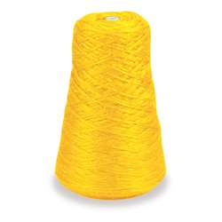 4 Ply Rug Yarn Refill Cone Yellow, PAC0002481