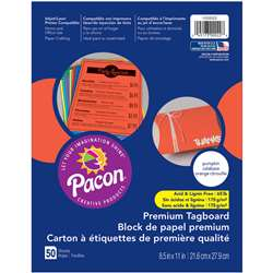 Premium Tagboard Pumpkin Orange, PAC1000022