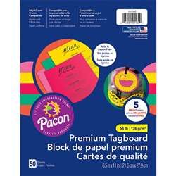 Hyper Premium Tagboard Assortment, PAC101160