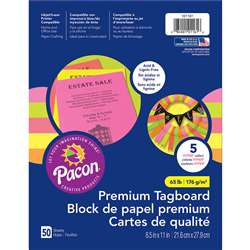 Brights Premium Tagboard Assortment, PAC101161