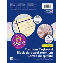 Marble Tagboard Assortment, PAC101165