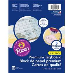 Parchment Tagboard Assortment, PAC101166