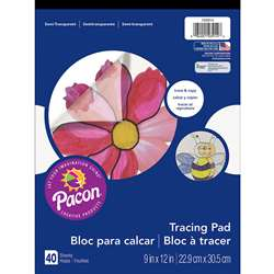 Tracing Pad 9X12 By Pacon