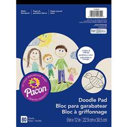 Doodle Pad 9X12 By Pacon