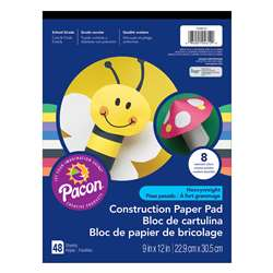 Construction Pad Hw 9X12 Asst 48Ct, PAC104612