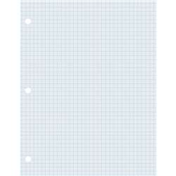 Graphing Paper Wht 2 Sided 500 Shts, PAC2414