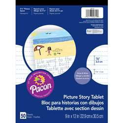 Picture Story Paper Pad By Pacon