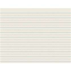 "Ruled Newsprint Reams 3/4"" X 3/8"" By Pacon"