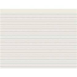 "Ruled Newsprint Reams 1/2"" X 1/4"" By Pacon"
