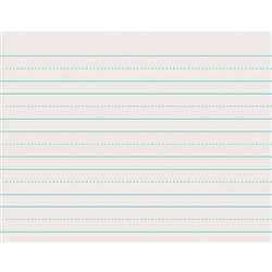 White Ruled Newsprint Skip-A-Line 1 X 1/2 X 1/2 By Pacon