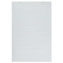 Primary Chart Pads White 100 Sheets, PAC3052