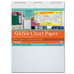Heavy Duty Anchor 27X34 Unruled Chart Paper, PAC3370