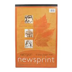 "Art1St Newsprint Pad 12X18"" 50 Sht By Pacon"