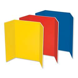 Foam Presentation Board Carton Of 6 3 Asst Colors, PAC3868