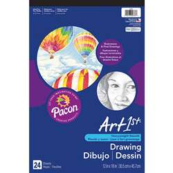 "Art1St Drawing Pad 12X18"" By Pacon"