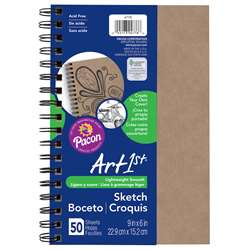 Sketch Diary Chip Cover 9X6 Natural, PAC4776