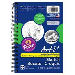 "Art1St Sketch Diary 9"" X 6"" By Pacon"