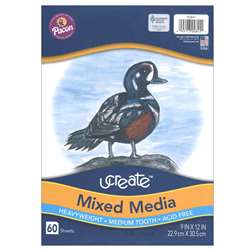 Art1St Multi Media Art Paper 9 X 12 By Pacon