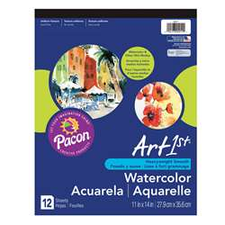 Art1St Watercolor Pad 11X14 12 Sht By Pacon
