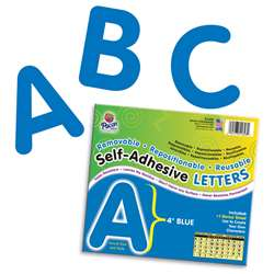 4 Self-Adhesive Letters Blue By Pacon