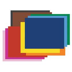 Peacock Assorted 100Ct 6Ply 22X28 Poster Board By Pacon