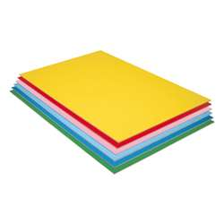 Pacon Value Foam Board 12Pk Asstd Colors, PAC5512