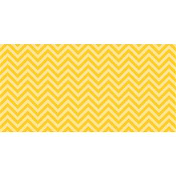 Fadeless 48X50 Yellow Chevron Design Roll, PAC55805
